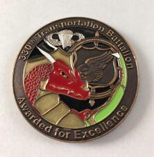 330th Transportation Battalion, Fort Bragg NC, Ser# 787 Commander's Coin B3