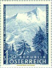 EBS Austria Österreich 1958 World Championship Skiing Graukogel ANK 1048 MNH*