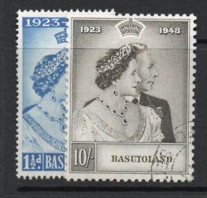 Basotuland  1948 Silver  Wedding  fine  used