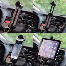 360˚ Rotating Car Air Vent Mount Holder Stand For 3.5-11inch Phone Tablet PC GPS