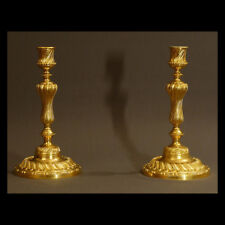 PAIRE DE FLAMBEAUX TRANSITION - PAIR OF CANDLESTICKS TRANSITION