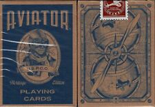 Aviator Heritage Deck Playing Cards Poker Size USPCC Custom Limited Dan & Dave