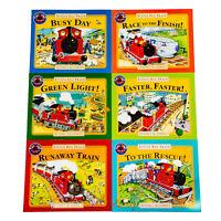 Benedict Blathwayt Little Red Train 6 Books Collection Set Runaway Train