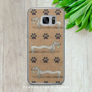 DACHSHUND SAUSAGE DOG SKETCH ART HARD PHONE CASE COVER FOR IPHONE/SAMSUNG/HUAWEI