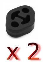 neu 2 x ALFA ROMEO 147 937 Auspuff Gummi Halter Abgasanlage Gummistreifen