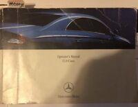 2006 Mercedes Benz CLS500 CLS55 AMG CLS 500 55 Owner User Manual 5.0L 5.4L V8