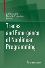 Traces and Emergence of Nonlinear Programming (2013, Hardcover)