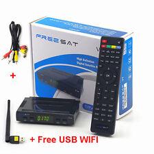 Satellite TV Receiver Freesat V7 HD DVB-S2 Full 1080p Support USB WIFI YouTube
