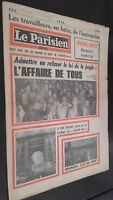 JOURNAL NUMERO PIRATE LE PARISIEN LIBERE 1975 ABE