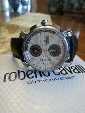 Roberto Cavalli Automatic Mens 40th Anniversary Chronograph Watch with Box
