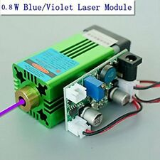 Industrial 405nm 0.8W 800mW Blue/Violet Laser Dot Module 12V /Uv Curing 3D Print