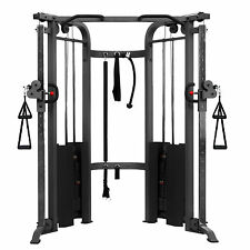 FUNCTIONAL TRAINER CABLE CROSSOVER MACHINE CABLE MACHINE PULL UP XMARK XM-7626