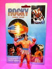 ROCKY BALBOA FIGURINE SLYVESTER STALLONE BOXING Action FIGURE Winston Toys 1985