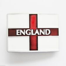 Flag of England St George's Cross Belt Buckle