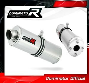 VJF ROADSPORT 125 Exhaust OVAL Dominator Racing silencer muffler