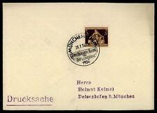 """3. REICH BRIEF 1936 SStpl. """"MÜNCHEN - DAS BRAUNE BAND"""" m1079"""