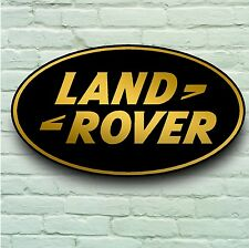 LANDROVER LOGO 2FT GARAGE SIGN WALL PLAQUE CLASSIC WORKSHOP 4 X 4 DISCOVERY