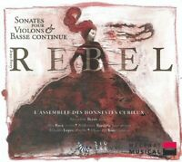 BEYER AMANDINE (violino) - Rebel - Sonatas for Violins and Bass [CD]