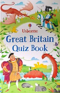 Brand New Usborne Activities: Great Britain Quiz Book