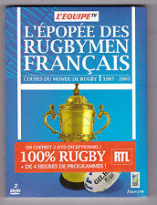 DVD NEUF pas cher  EPOPEE DES RUGBYMEN FRANCAIS RUGBY 1987 - 2003