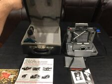 Vintage Rare Polaroid 230 Land Camera w/Case & Cold Clip #193 & Flash Free Ship