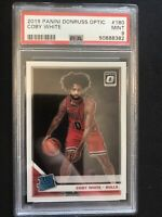 2019-20 Donruss Optic Coby White Rated Rookie PSA 9 Chicago Bulls RC QTY Avail.