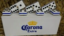 Corona Extra Dominoes Set Double Six Man Cave Pub Bar Domino Game