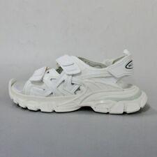 Auth BALENCIAGA Track Sandals 617542 W2CC1 9000 White Sandals US # 9