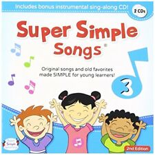 SUPER SIMPLE SONGS 3 SECOND EDITION CD CHILDREN KIDS ENGLISH