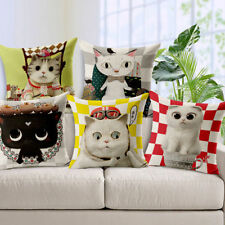 Unbranded Cat Decorative Cushions & Pillows