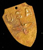 WWII ERA UNITED STATES AIR FORCE SWEETHEART PENDANT WINGS PROPELLER PATRIOTIC