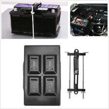 Universal Car Battery Tray+Adjustable Hold Down Clamp Bracket Kit Screw Rod 27cm