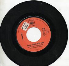 THE MINSTRELS disco 45 giri ITALY Chitty citty bang bang STAMPA ITALIANA promo