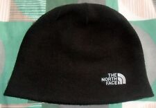 The North Face black beanie hat warm winter