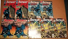Batman VF DC comics extras 1990-95 multiples 449 444 443 517 unused 1st prints