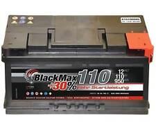 Autobatterie 12 V 110 Ah 950A/EN BlackMax KFZ PKW Batterie ers. 95Ah 100Ah 105Ah
