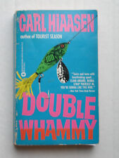 Carl Hiaasen:  DOUBLE WHAMMY  Paperback Book