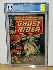 *EXTREMELY RARE* GHOST RIDER  # 1 GRADED CGC 5.5 1967.