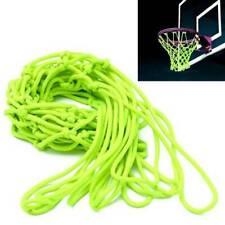 New listing Replacement Basketball Net Nylon Hoop Goal Standard Rim Net Night 1/2dZ