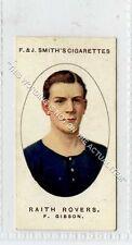 (Ga6603-454) Smith, Football Club Records, #18 F.Gibson, Raith Rovers 1917 VG-EX