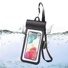 Waterproof dry bag Phone Pouch with Armband Universal IPX8 with Double Seal Sens