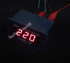 Digital Voltmeter AC 0~600V Red Led Display Voltage Meter AC 220V Volt Meter
