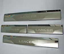 4Door Sill Scuff Plate For Mitsubishi Lancer Sedan GTS DE ES SX VR 08 09 10