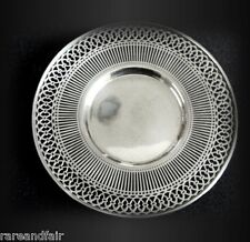 American sterling silver by Watson - pierced rim plate FREE SHIPPING