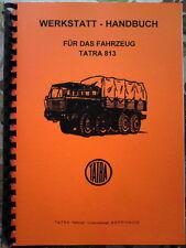 Reparaturhandbuch Tatra 813 Werkstatthandbuch NVA  IFA W50 L60 Robur