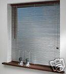 Jalousie 120x180cm silber PVC Jalousette Plissee Fensterjalousie Türrollo Rollo