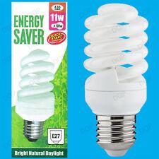 4 x 11W Luce del giorno Avvio Rapido CFL a risparmio energetico TRISTE 5600K