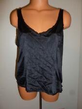 Vanity Fair Vassarette XL black smoothing undershirt