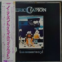 ERIC CLAPTON NO REASON TO CRY RSO MWF 1013 Japan OBI VINYL LP