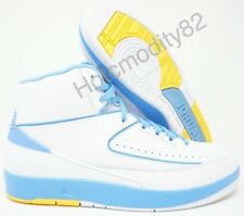 brand new 3098a 14075 Nike Air Jordan 2 Retro Carmelo Nuggets White University Blue Size 10 Mens